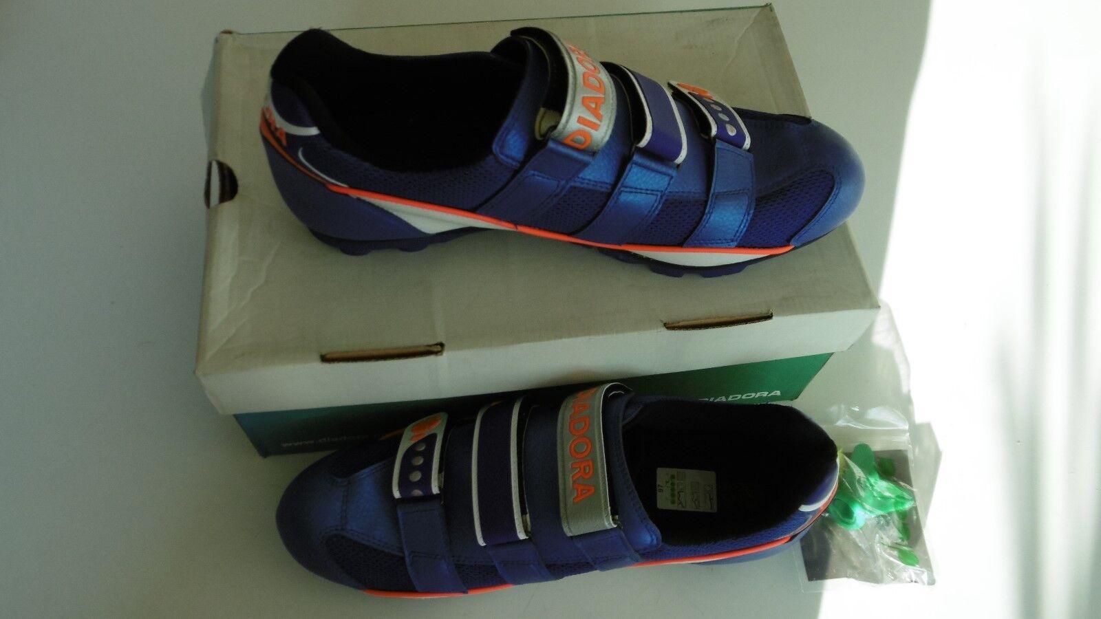 Diadora Yolo bluee shoes Size 47 New In Box
