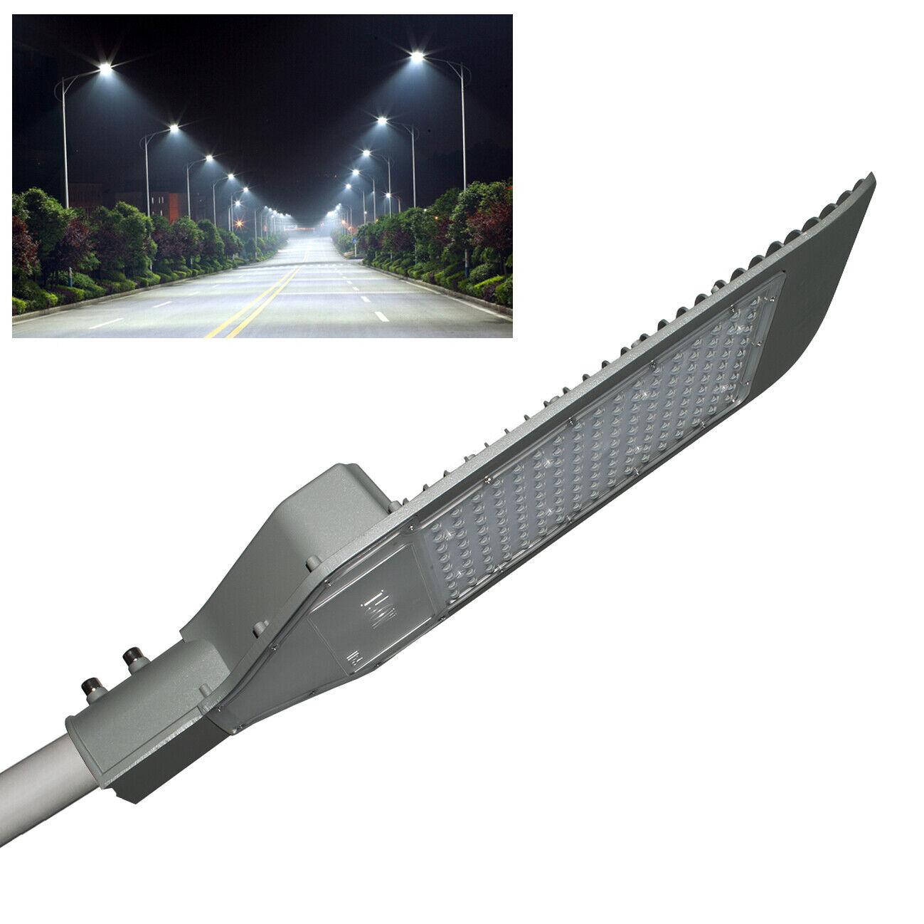 Faro stradale armatura palo lampione LED 150W 16500lm resa 1650w esterno IP65