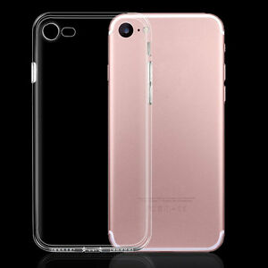 quality design b7b27 c99ae Details about For Apple iPhone 7 7 Plus Clear Case 0.2mm Ultra Thin  Silicone Transparent Cover