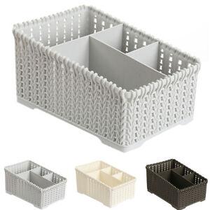 Plastic-Makeup-Holder-Desktop-Bathroom-Sundries-Storage-Organizer-Basket-Welcome