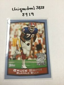 1999-Topps-Season-Opener-102-Bruce-Smith-Buffalo-Bills-Football-Card-8919