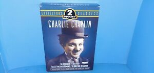 Charlie-Chaplin-Immigrant-Gold-Rush-Punctured-Romance-Burlesque-Carmen-DVD-B424