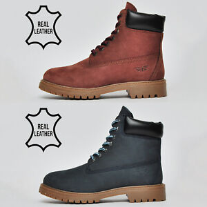 Red-Tape-REAL-LEATHER-Mens-Buckland-Classic-6-inch-Urban-Outdoor-Premium-Boots