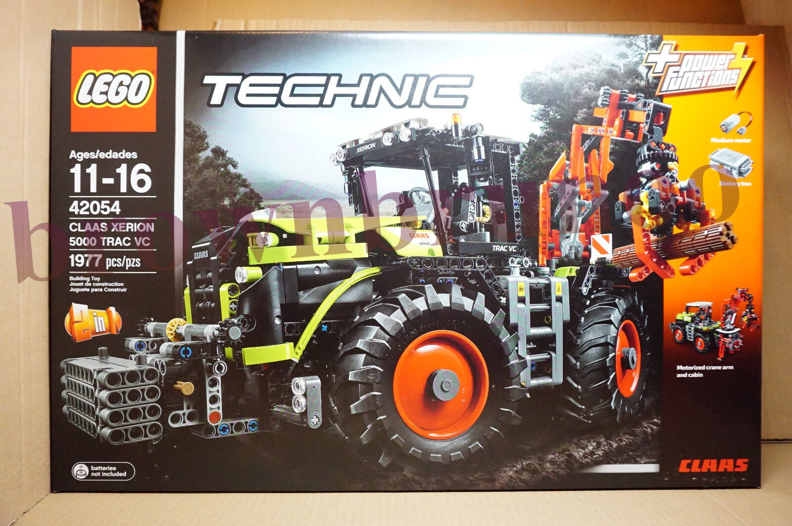 Lego Technic 42054 Claas Xerion 5000 Trac Vc Kit di Costruzione Power Functions