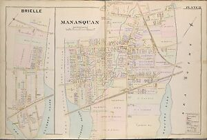 1889 WOLVERTON BRIELLE MANASQUAN MONMOUTH COUNTY NEW JERSEY COPY