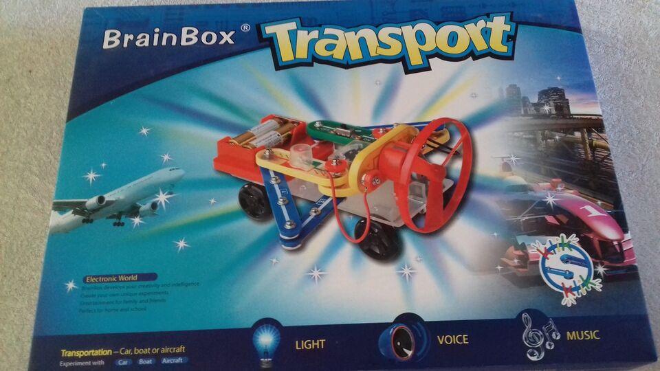 Byggesæt, BrainBox - transport, BrainBox