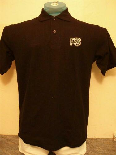 Unisex Classic Polo Shirt with Embroidered Ford RS Car Logo