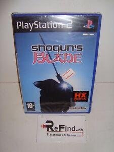 SHOGUN-039-S-BLADE-Ps2-Playstation-2-Pal