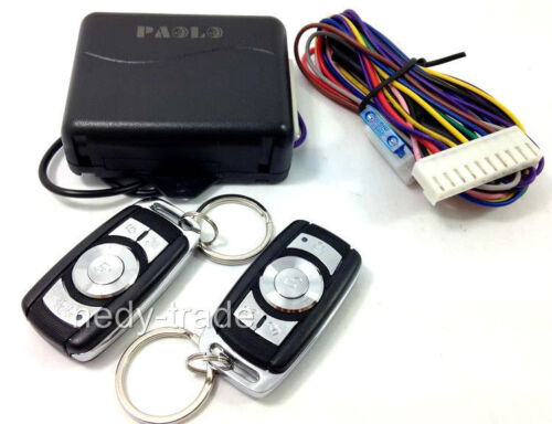 Remote Control Keyless Entry System Central Door Locking Kit Auto Car Van 240