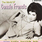 The World of Connie Francis by Connie Francis (CD, May-1996, Spectrum Music (UK))
