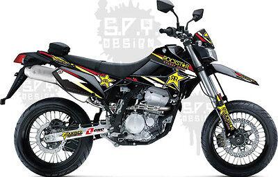 Effex Kawasaki KLX250S /& KLX250SF 09-17 Decals Sticker Graphics Motard