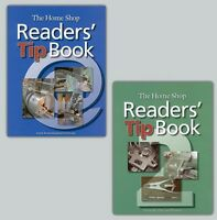 Home Shop Readers' Tip Books 1 & 2/machining/lathes