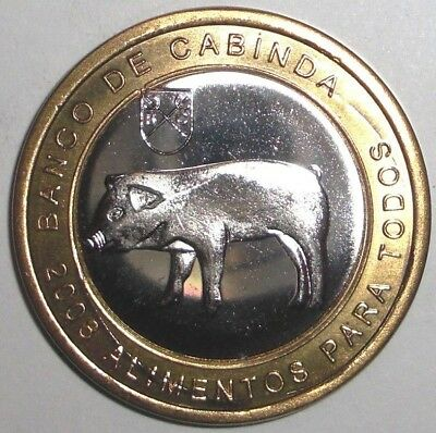 Pygmy Killer Whale fish bimetallic coin 2012 Micronesia 5 dollars wildlife