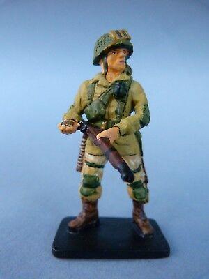 Colto Soldat De Plomb 2 Guerres Mondiales Paratrooper Normandy - Usa 1944 Acquisto Speciale