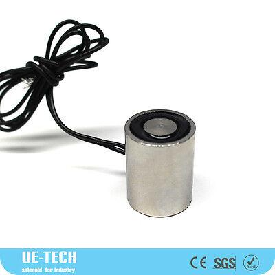DC24V 1kg 2.2LB Electric Lifting Magnet Holding Electromagnet Solenoid P13//30 2W