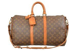 Louis-Vuitton-Monogram-Keepall-45-Bandouliere-Travel-Bag-Strap-M41418-YF01932