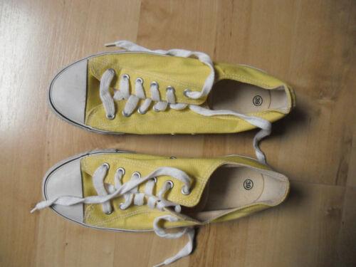 Größe Dauomo Gelbe 39 Sneakers Ungetragen qtgaXg