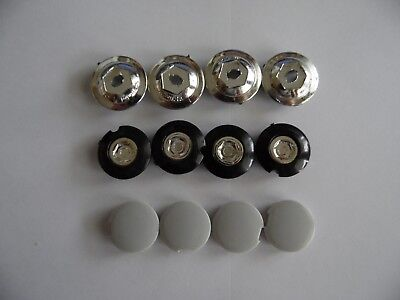 Shimano //Prowheel Bike Bottom Bracket Crank Arm Dust 21mm plastic Cover Cap 4pcs