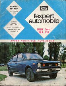 RTA-revue-technique-automobile-n-124-DATSUN-CHERRY-100-A-120-A-1975