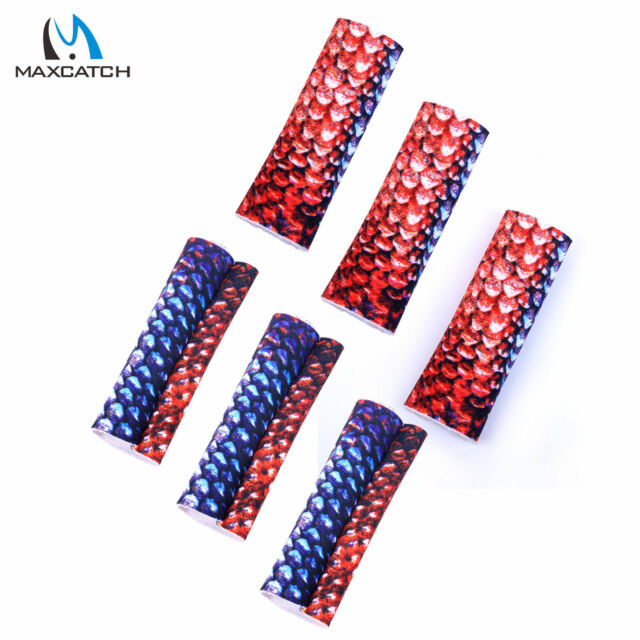 6PCS Fly Line Stripping Guards Braided Textured Fly Fishing Finger Protection