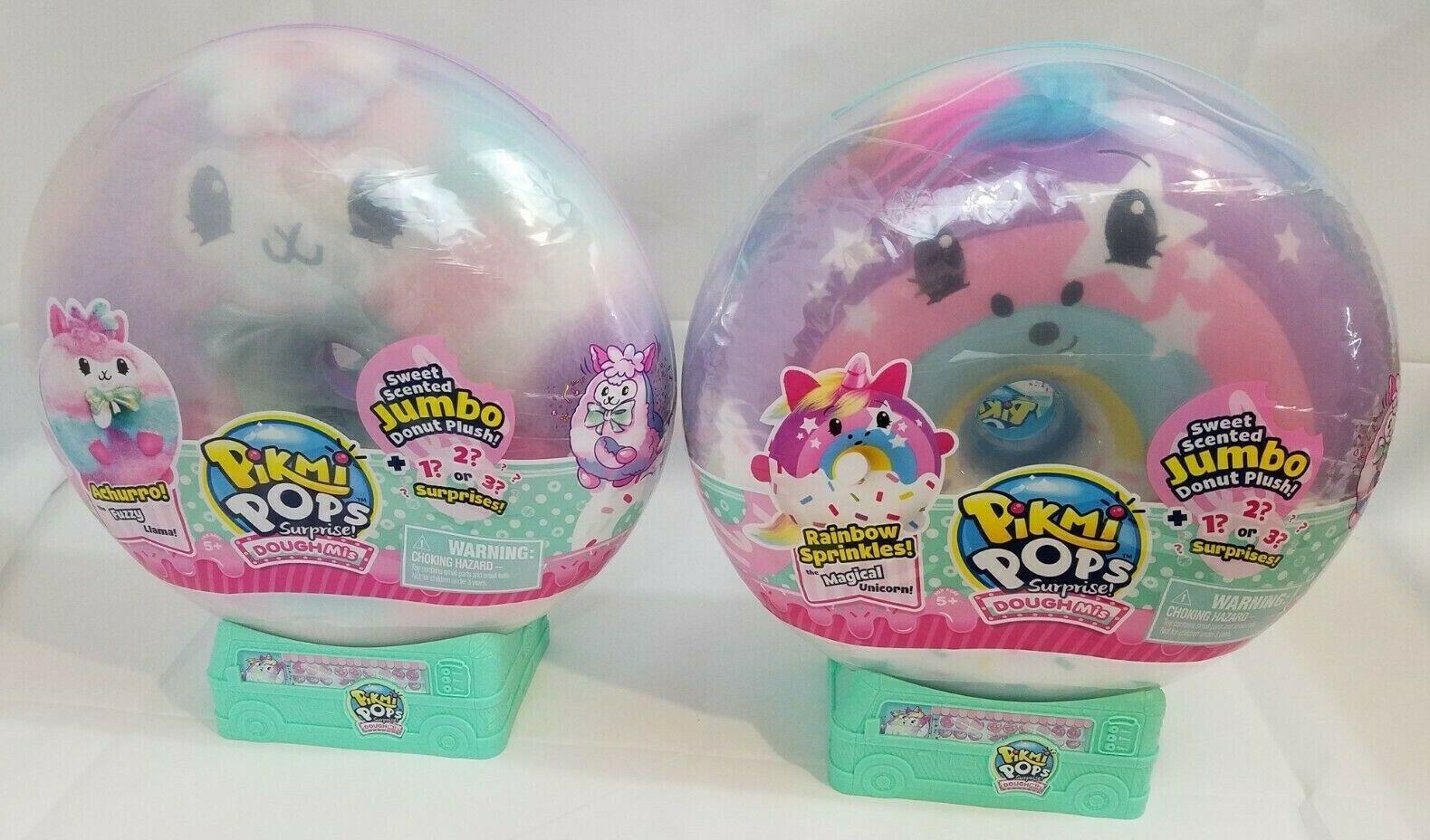 Pikmi Pops Surprise  Dough Mis 2x Masse RAINBOW SPRINKLES AND ACHURRO