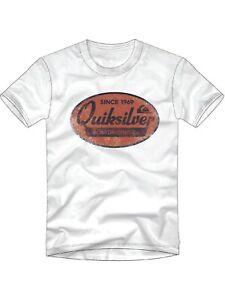 Quiksilver Mens What We Do Best-T-Shirt Screen Tee
