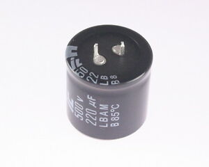 4x 220uf 500v dc radial snap in mount electrolytic capacitor 85c image is loading 4x 220uf 500v dc radial snap in mount sciox Choice Image