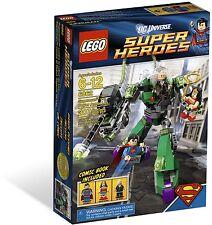 LEGO SUPERMAN vs. POWER ARMOR LEX 6862 Set New & Sealed Box Wonder Woman minifig