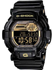 Casio G-Shock Men's Quartz Alarm Black Digital Timer 51mm Watch GD-350BR-1