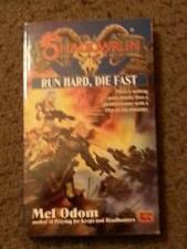 Mel Odom SHADOWRUN Run Hard, Die Fast (Paperback)