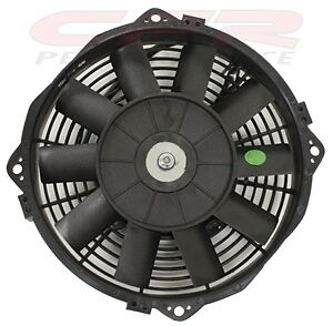 """8 /"""" inch HIGH PERFORMANCE ELECTRIC RADIATOR COOLING FAN   FLAT BLADE"""