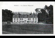 POISSY (78) CHATEAU de MIGNEAUX , cliché début 1900