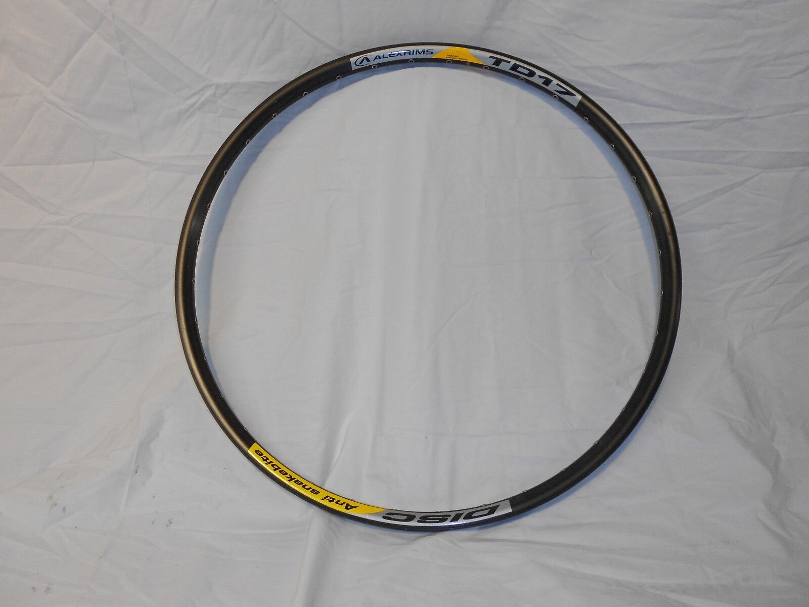 Alexrims TD17 DISC Anti Snakebite (Double Wall Erto (559x17) (60601H) (T6))