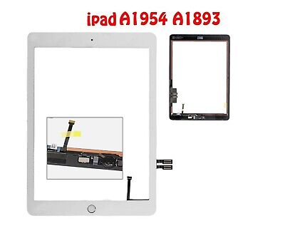 """For Apple iPad 6 2018 Digitizer Touch Screen Glass 9.7/"""" A1893 A1953 A1954 White"""
