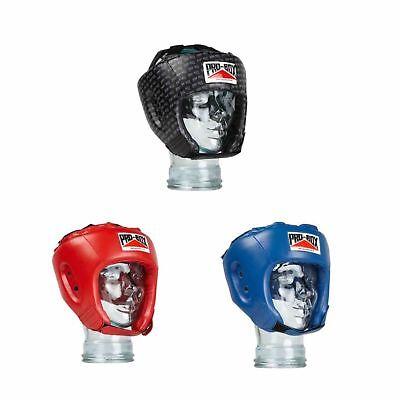 PRO Box base-Spar Junior PU HEADGUARD-Rosso Kick Boxing Allenamento Sparring