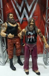 Série Wwe Mattel Braun Strowman Bray - Figurine de lutte pour le pack de bataille Wyatt