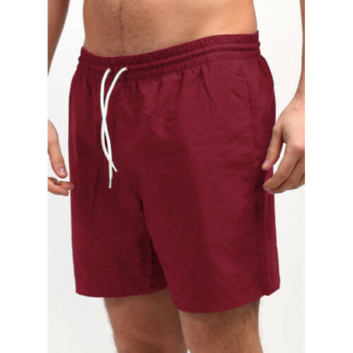 Mens Quick-Dry Swim Shorts Swim Trunks Swimwear Beach Board Drawstring Shorts US