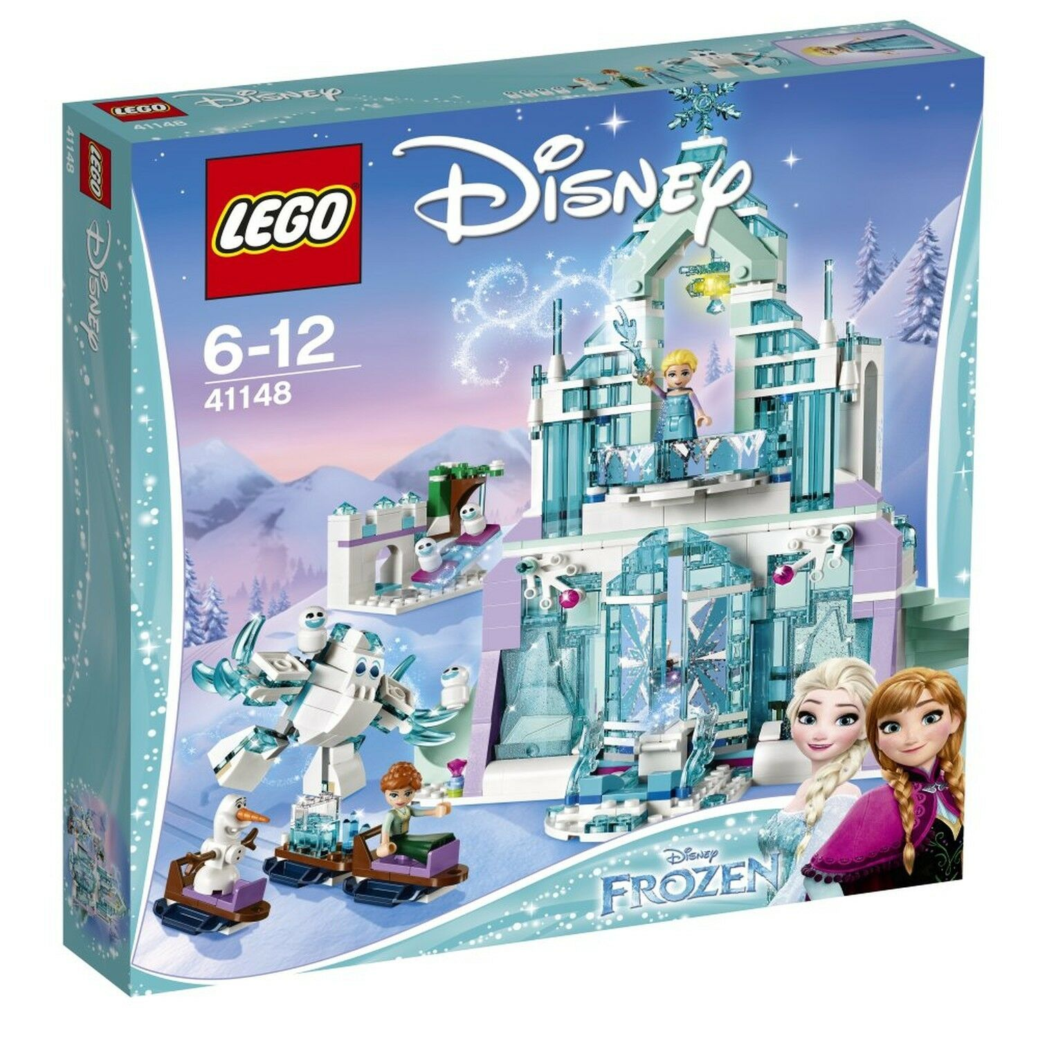 LEGO 41148  Elsa's Magical Ice Palace  Building Toy