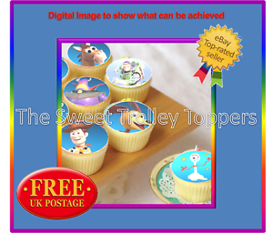 Remembrance Day Poppy Appeal Edible Rice//Wafer Paper Cupcake Bun Cake Toppers