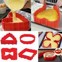 4 Pcs Nonstick Silicone Cake Mold Magic Bake Snake DIY Cake Mould Baking Tools