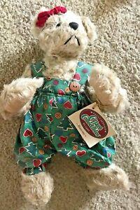 Ganz Cottage Collectibles Teddy Bear Ramona Christmas Version Mary Holstad Ebay