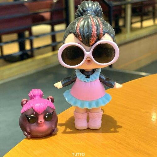 with a Pet spicy LOL SURPRISE Dolls Glam Glitter SPICE L.O.L series 2 toys