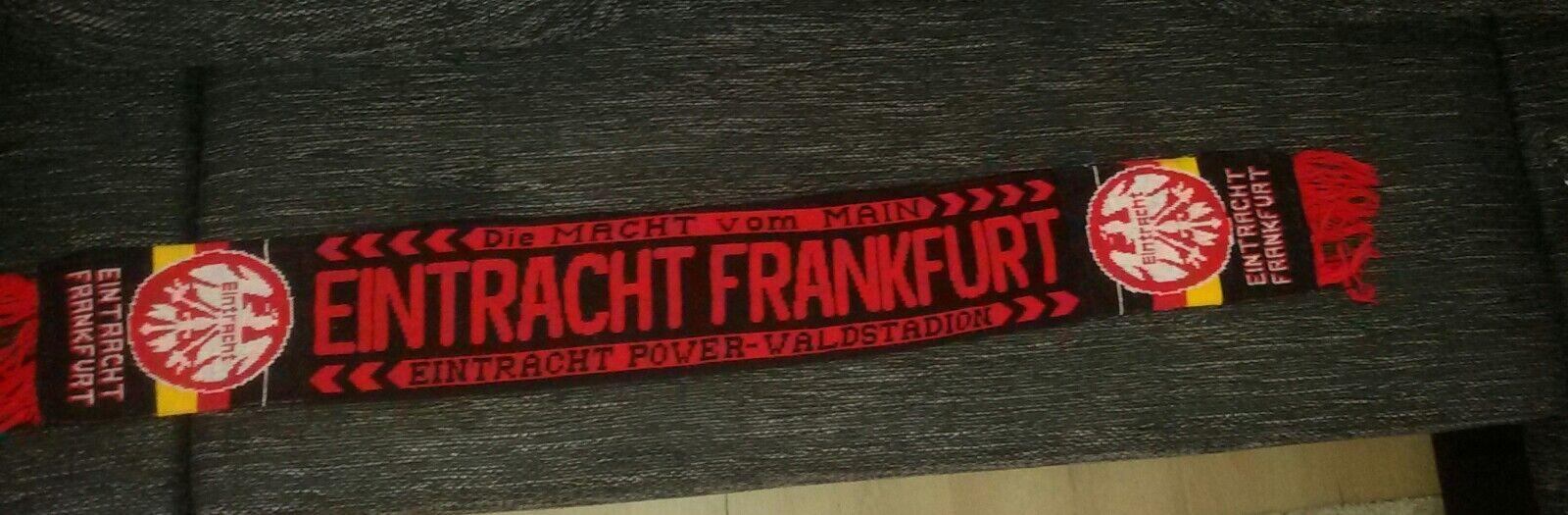 Fan Schal EINTRACHT FRANKFURT schwarz rot GoldEintracht Power-Waldstadion140cm    Grüne, neue Technologie