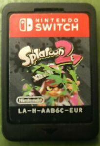 Splatoon 2 Uk Tested Game Card Only Ebay