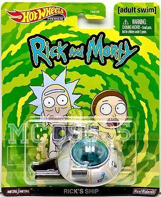 Rick and Morty Rick/'s Ship Hot Wheels  PREMIUM adult swim