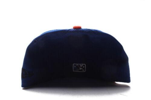 New Era Trenton Thunder MILB Blue Orange Gatorade Fitted Cap GR