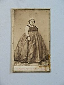 Late-1800-039-s-Circus-Sideshow-Sensation-Battersby-Large-Woman-CDV