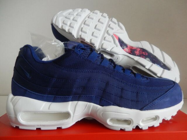 reputable site e0d08 17e25 Nike Air Max 95 Stussy Loyal Royal Blue-white Sz 11 834668-441