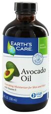 Earth's Care - Avocado Oil Nourishing Moisturizer for Skin and Hair - 8 oz.