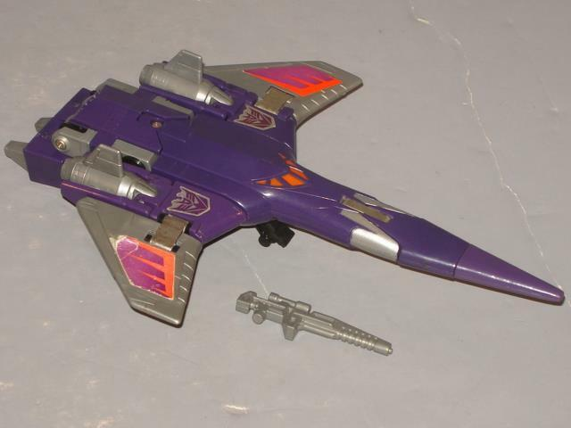 G1 TRANSFORMER DECEPTICON CYCLONUS COMPLETE LOT   2 CLEANED